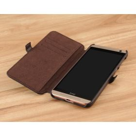 Book Style Quilted Leather Case