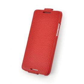 Custom Down Flip Leather Case for HTC One Mini