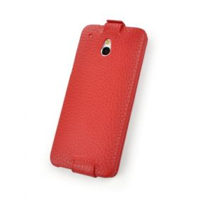 Custom Down Flip Leather Case for HTC One Mini