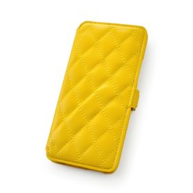 Custom Quilted Pattern Book Style Wallet Case for HTC One Mini
