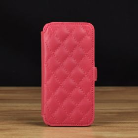 Quilted Book Style Leather Case