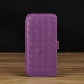 Woven Book Style Leather Case