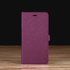 Purple Saffiano Leather