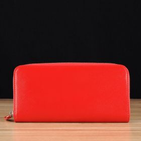 Red Saffiano Leather