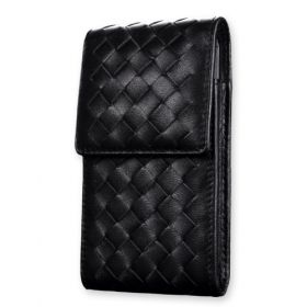 Montecito Woven Long Leather Case