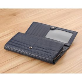 Sallas Woven Long Wallet
