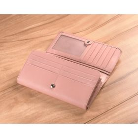 Soft Pink Saffiano Leather