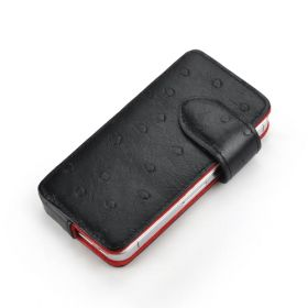 Slider Genuine Leather Protective Phone Case