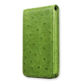 Surrey 2 Flip Leather Case Provides Full Screen Protection. Folds Upward.