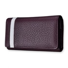 Murano Classic Wide Leather Holster with Leather Strip Accent