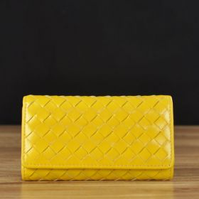 Leather Case with Woven Pattern