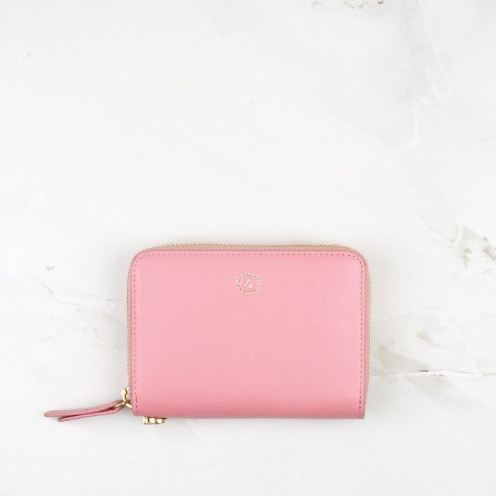 Blossom Pink Calfskin Leather