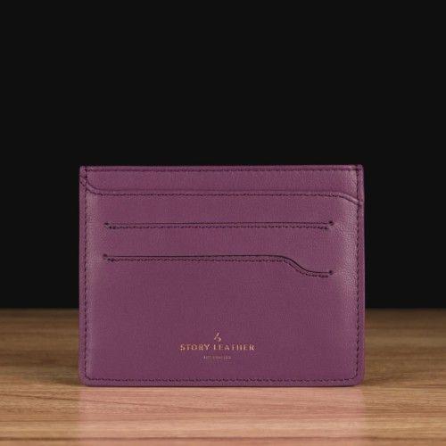 Purple Napa Leather