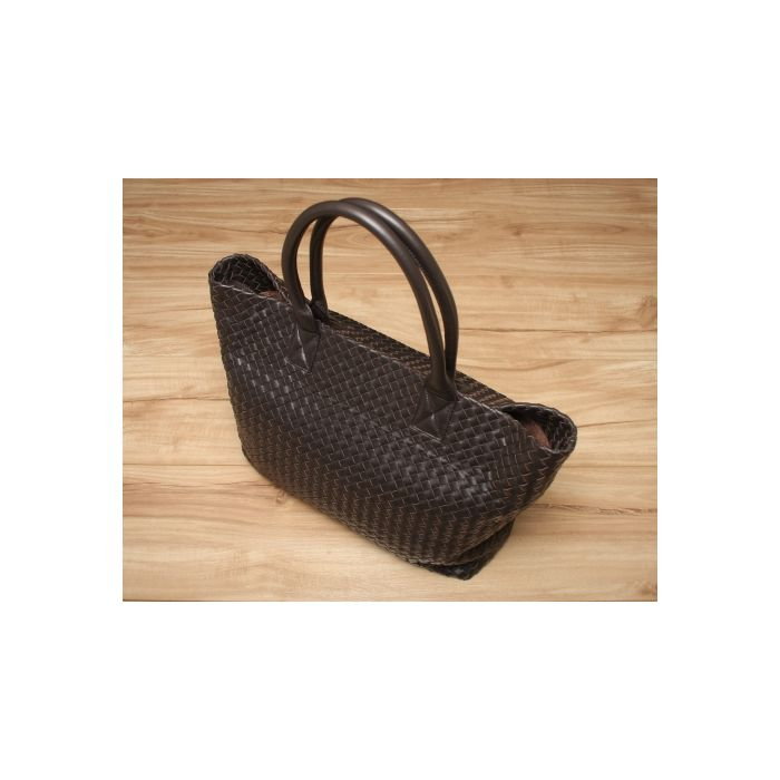 Loren Woven Shoulder Bag