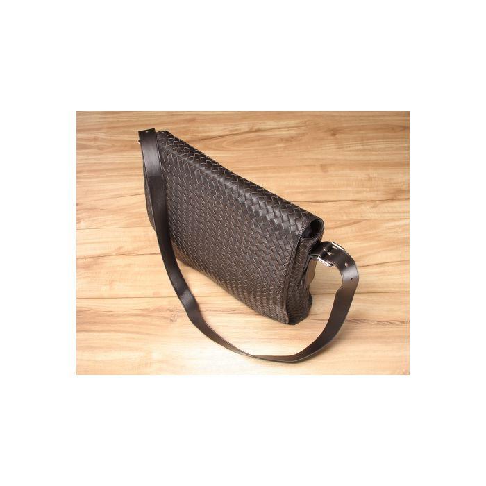 Barron Woven Messenger Bag