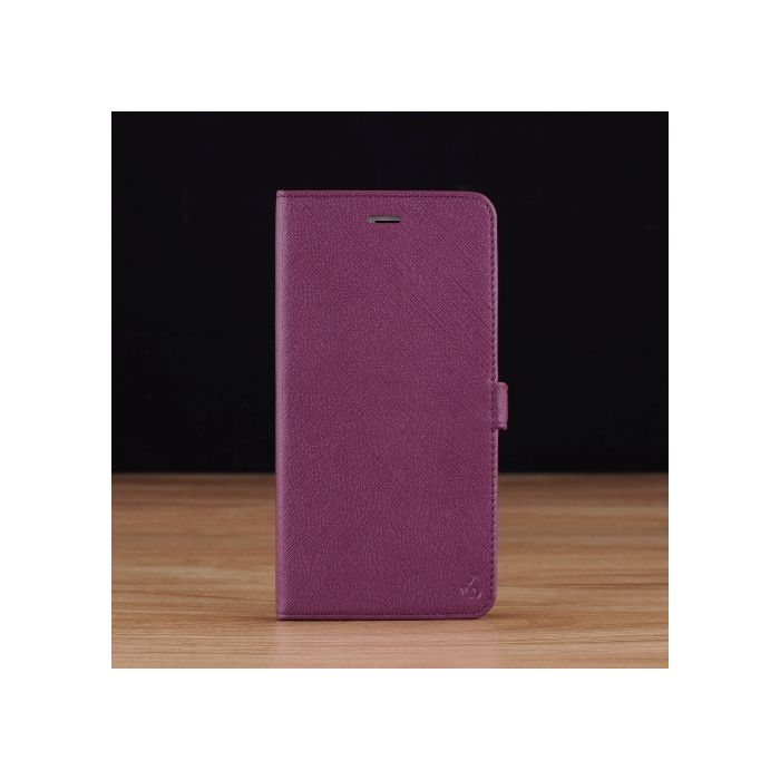 Purple Saffiano Leather