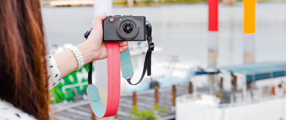 Custom Made Leather Camera Strap for Digial Camera, DSLR and SLR cameras