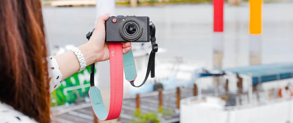 Custom Made Leather Camera Strap for Digial Camera, DSLR and SLR cameras