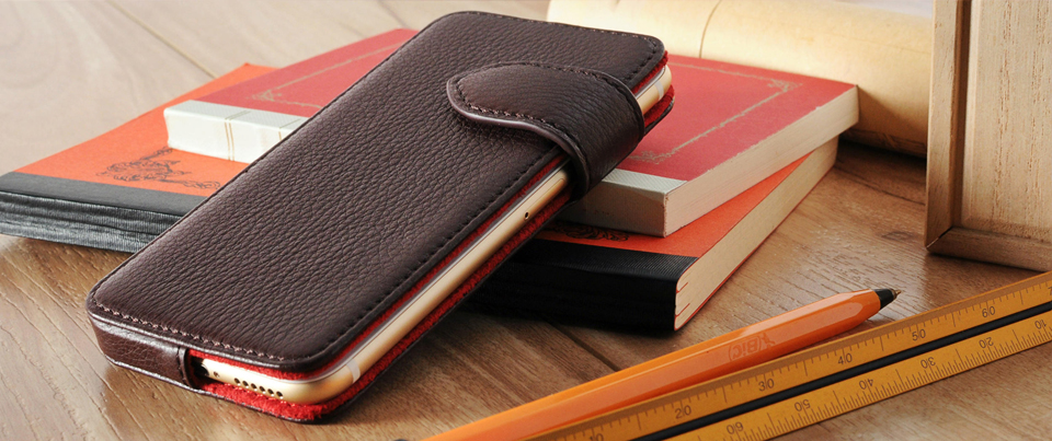 Leather phone case customizable for all phones