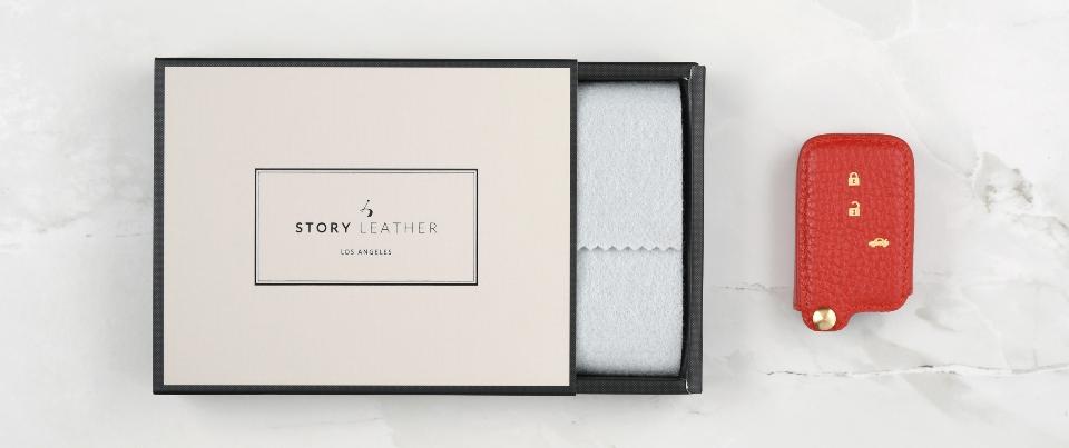 Custom Made Leather Key Cover for Your Subaru WRX Keyless Car Key Fob