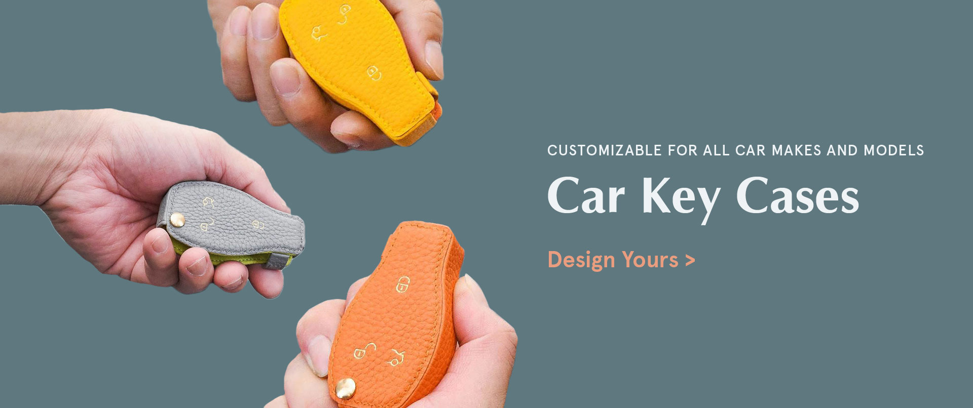 Custom Leather Car key Covers