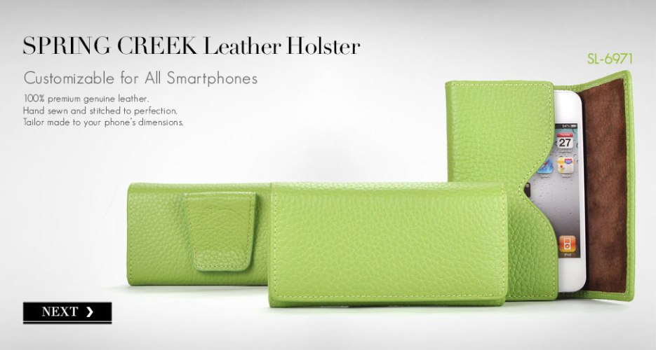 Spring Creek Leather Phone Holster Case