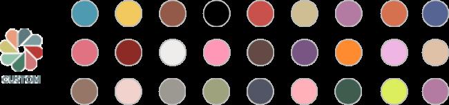 Customizable Color